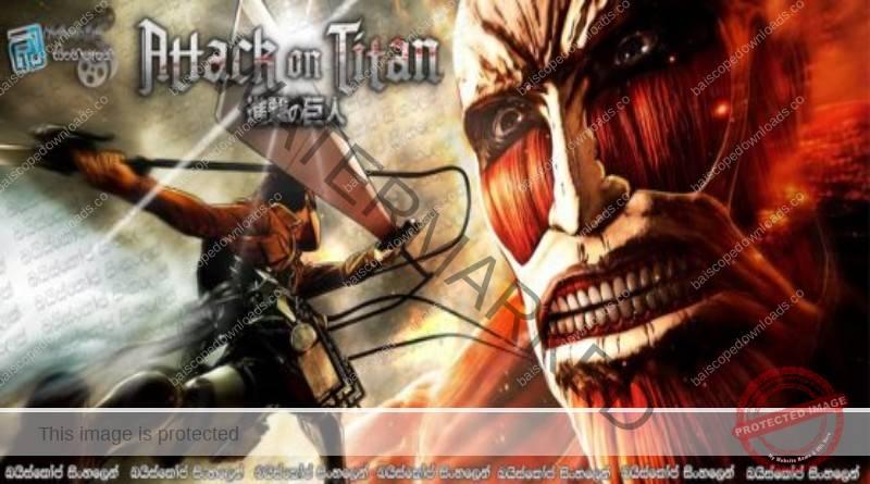 Attack on Titan AKA Shingeki no kyojin [S1] EP13 & EP14 | යෝධයින්ට එරෙහි සටන..