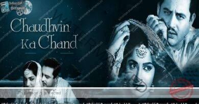 Chaudhvin Ka Chand (1960)   ඉන්දීය හින්දි සිනමාවේ පැරණි සුන්දර සිනමාපටයක් නැරඹීමට ආරාධනා!